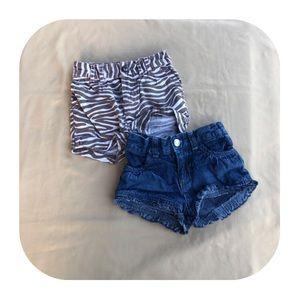 Cherokee & Koala baby shorts 12M